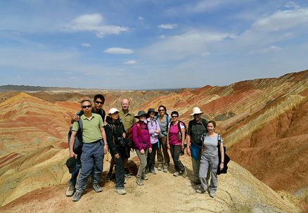 , Beijing Hikers Zhangye, May, 2012
