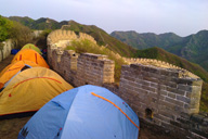 Middle Switchback Great Wall camping trip, April 26-27, 2014