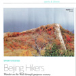Beijing Hikers: Sports Tested in City Weekend magazine, November 2014