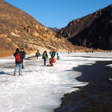 White River ice hike, 2015/01/27
