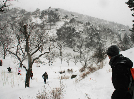 Valley, Beijing Hikers Snow hike, 2010-01-03