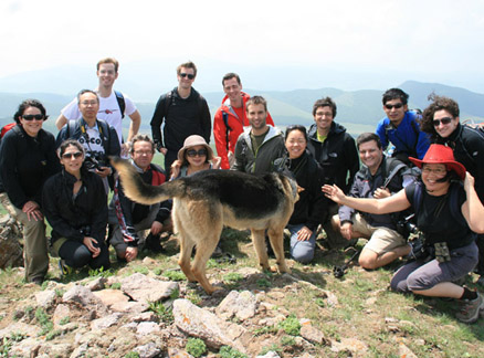 Hiking group, Beijing Hikers Bashang Grasslands Trip, June 18-20, 2010