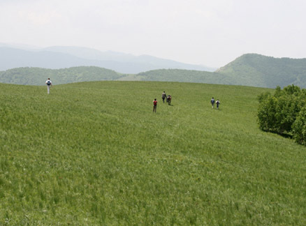 Grassy hills, Beijing Hikers Bashang Grasslands Trip, June 18-20, 2010