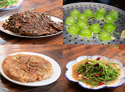Lijiang snacks, Beijing Hikers Yunnan scouting, November 2010