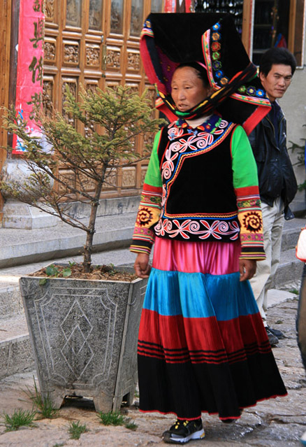 Ethnic costume, Beijing Hikers Yunnan scouting, November 2010