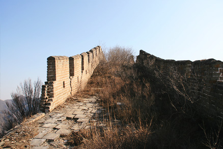 Over the centuries, Beijing Hikers the Great Wall Spur hike, Febrary 02, 2011