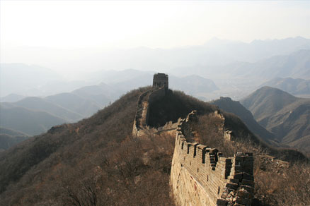 >The Great Wall, Beijing Hikers the Great Wall Spur hike, Febrary 02, 2011
