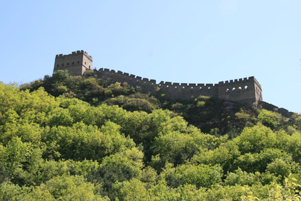 A fantastic springtime view , Beijing Hikers Jinshanling Great Wall hike, May 02, 2011