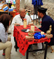 A visit with the Taoist fortune teller, Beijing Hikers Yajishan Temple Fair