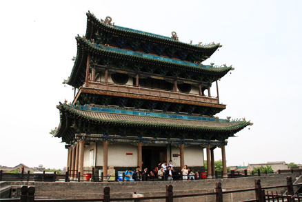 Preserved tower, Beijing Hikers Pingyao, May 20- 22 , 2011