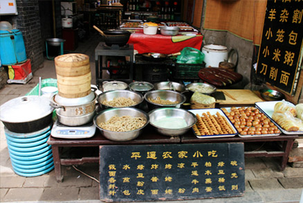 Local snacks to sample, Beijing Hikers Pingyao, May 20- 22 , 2011