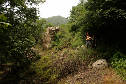 the high peaks and ridges, Beijing Hikers SanchaValley, August6, 2011