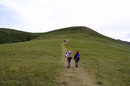 , Beijing Hikers BashangGrasslands, Septemper09, 2011