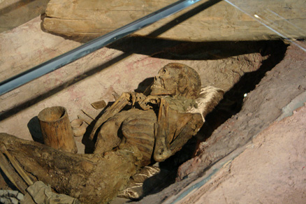 a 3,000-year old mummy, Beijing Hikers JourneyFromWest,October01, 2011