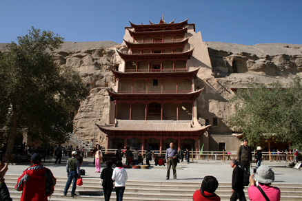 The Mogao Grottoes, Beijing Hikers JourneyFromWest,October01, 2011
