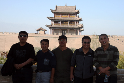 Our drivers, Beijing Hikers JourneyFromWest,October01, 2011