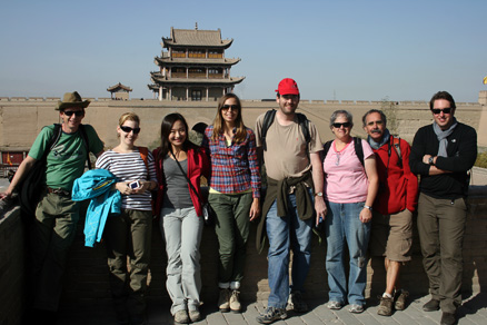 inside the fortress, Beijing Hikers JourneyFromWest,October01, 2011