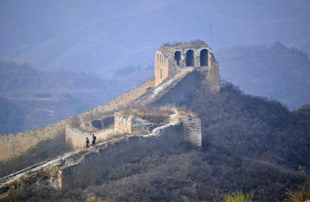 Some of the towers, Beijing Hikers Gubeikou GreatWall Loop Midweek, November02, 2011