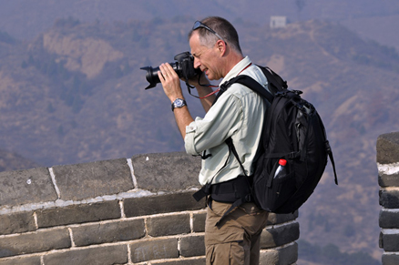 lots of opportunities for photos, Beijing Hikers Gubeikou GreatWall Loop Midweek, November02, 2011