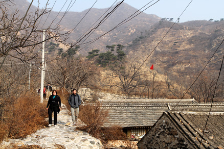 , Beijing Hikers Huanghuacheng GreatWall, November16, 2011