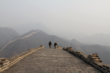 peaks and summits, Beijing Hikers Huanghuacheng GreatWall, November16, 2011