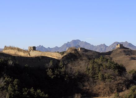 The Gubeikou Great Wall, Beijing Hikers Gubeikou GreatWall Loop Midweek, November02, 2011