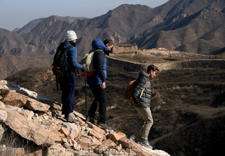 , Beijing Hikers YanqingGreatWall, November25, 2012