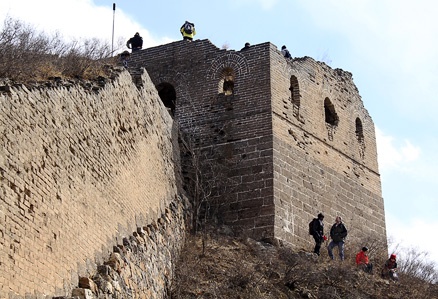 , Beijing Hikers Gubeikou GreatWall, March10, 2012