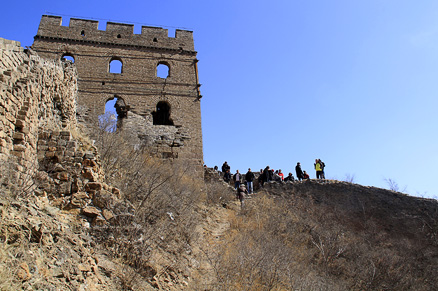 The twenty four eyes tower, Beijing Hikers Gubeikou GreatWall, March10, 2012