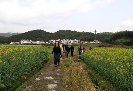 , Beijing Hikers Wuyuan, March23-25, 2012