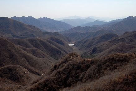 the mountains, Beijing Hikers Chang Yucheng 'Long valley city',March31,2012