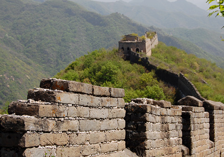 the Great Wall, Beijing Hikers GreatWall Spur, May02, 2012