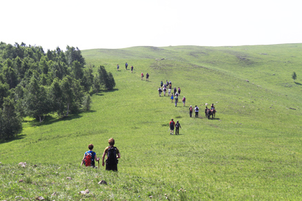 grasslands, Beijing Hikers Bashang,June,2012