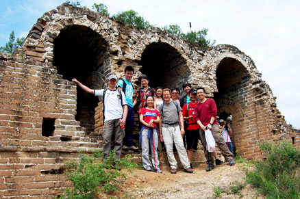 the 15th and 16th centuries,Beijing Hikers Gubeikou, June14, 2012