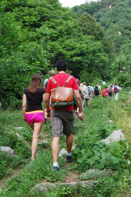 summer, Beijing Hikers Spring valley loop, June17, 2012