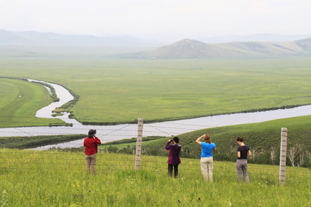 , Beijing Hikers Hulunbuir,July15,2012
