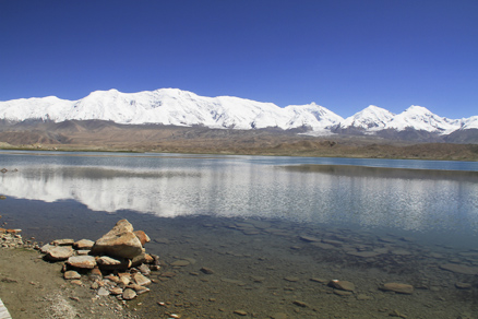 Beautiful landscape, Beijing Hikers Kashgar and Lake Karakul, 2012/07