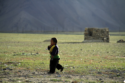 A young boy, Beijing Hikers Kashgar and Lake Karakul, 2012/07