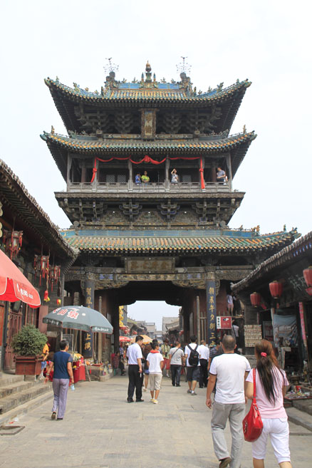 the big towers, Beijing Hikers Pingyao trip, August10, 2012