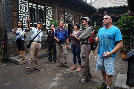 local guide, Beijing Hikers Pingyao trip, August10, 2012