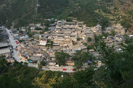 A view of Cuandixia, Beijing Hikers Ming Village Overnight,September22, 2012