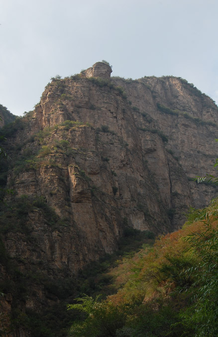 Some of the cliffs, Beijing Hikers Ming Village Overnight,September22, 2012