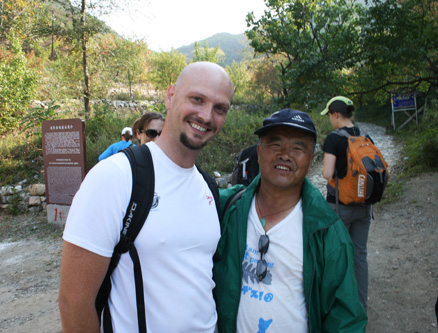 local guide, Beijing Hikers Ming Village Overnight,September22, 2012