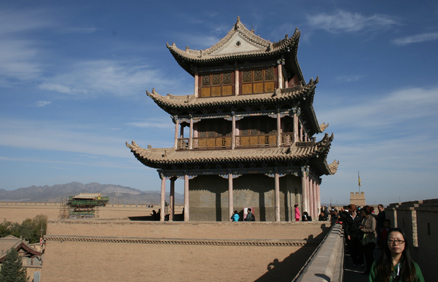Another of the big towers., Beijing Hikers Journey from the West October, 2012