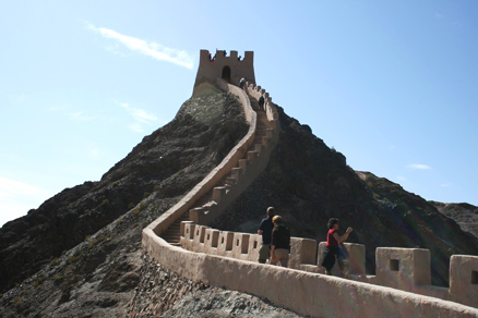 the Jiayuguan Fortress, Beijing Hikers Journey from the West October, 2012