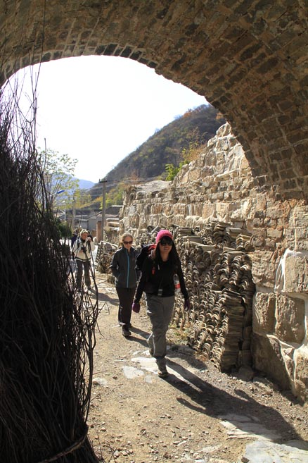 ancient City, Beijing Hikers Changyucheng, October24, 2012