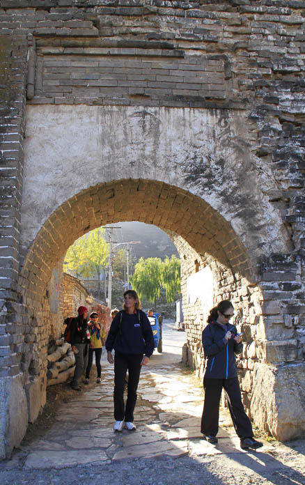 the old village, Beijing Hikers Changyucheng, October24, 2012