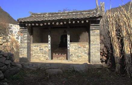 A small shrine located outside of the City wall, Beijing Hikers Changyucheng, October24, 2012