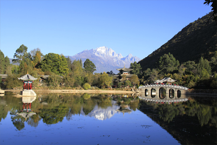 Black Dragon pond, Beijing Hikers Lijiang and Shangri-La, Nov14, 2012