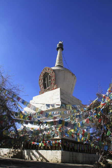 A stupa, Beijing Hikers Lijiang and Shangri-La, Nov14, 2012